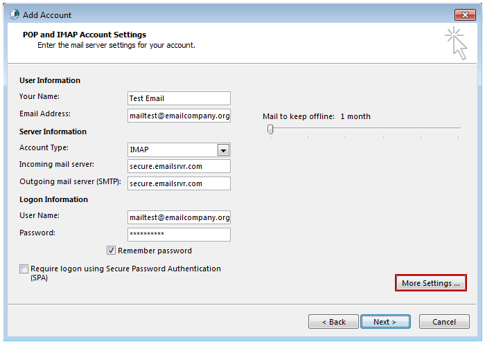 how to add email addresses to outlook 2007