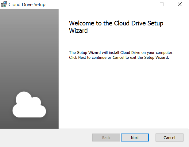 Install the Cloud Drive app on Windows - Knowledgebase - Thexyz